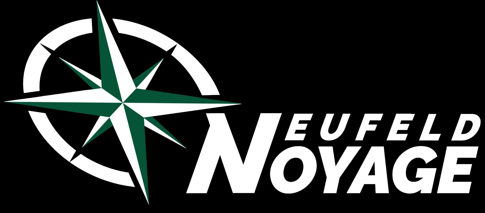 Logo Neufeld Voyage weiß